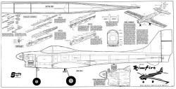 Rimfire model airplane plan