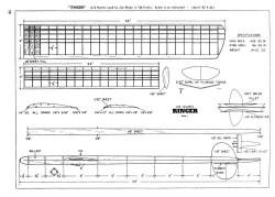 Ringer model airplane plan