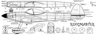 Ringmaster model airplane plan