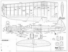Road Runner CL model airplane plan