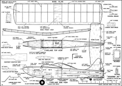 Roaring 20 model airplane plan