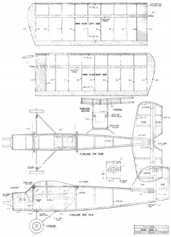 Robin Hood10 model airplane plan