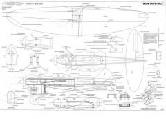 Rocket model airplane plan