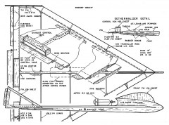 Rocket Delta model airplane plan