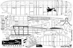 Rocketeer A model airplane plan