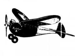 Rocketeer model airplane plan