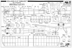 Rollason D-31 Turbulent model airplane plan