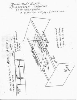 RonTuit p3 model airplane plan