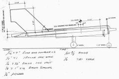 RonTuit p4 model airplane plan