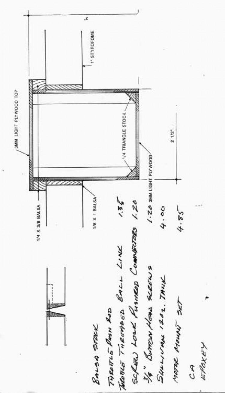 RonTuit p7 model airplane plan