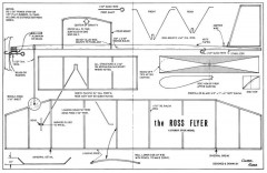 Ross Flyer model airplane plan