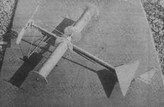 Rotor Flying model airplane plan
