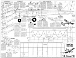 Rudder Bird model airplane plan