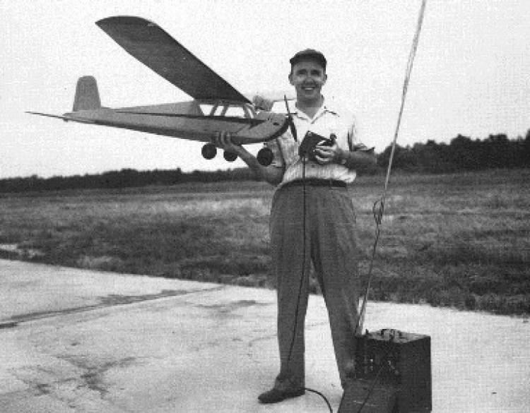 Rudder Bug model airplane plan