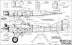 Rumpler 4C Taube 1 model airplane plan
