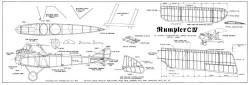 Rumpler CIV model airplane plan