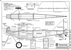 Rumplestadt C Type-RCM-07-71-466 model airplane plan