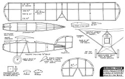 Russell Mono model airplane plan