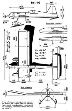 Russian 1 model airplane plan