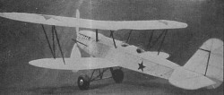 Russian Fighter D-1 model airplane plan