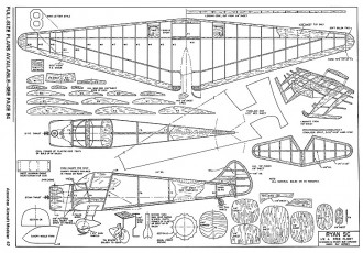 Ryan SC-AAM-08-72 model airplane plan