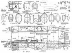 Ryan STA PT20-20A FSI-R-1 model airplane plan