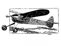 S-4 model airplane plan