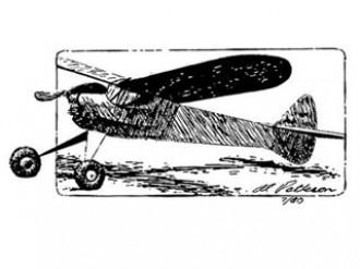 S-4 model airplane plan