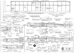 S-Tee 36in model airplane plan