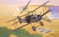 S.E.5 Cardboard model airplane plan