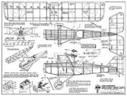 S.E 5A British Scout model airplane plan