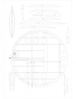 SAUCER Model 1 model airplane plan