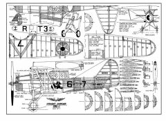 SBU-1LR model airplane plan