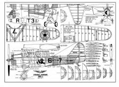 SBU-1LR model airplane plan