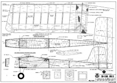 SD-500 MkII model airplane plan