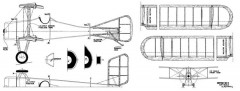 SE-4 Racer model airplane plan