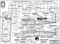 SE5 Tomasco model airplane plan