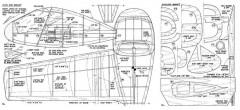 SIPA 200 plan model airplane plan