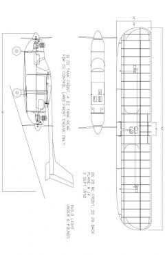 SKYMASTR Model 1 model airplane plan