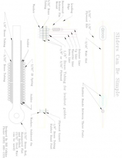SLIDER2 Model 1 model airplane plan
