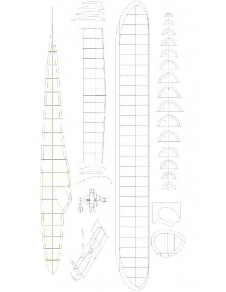 SMOOTHIE Model 1 model airplane plan
