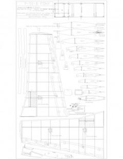 SSWING2 Model 1 model airplane plan
