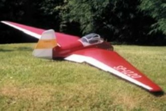 SZD 6X Nietoperz model airplane plan