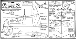 Sailaway model airplane plan
