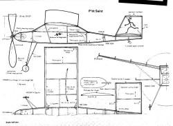 Saint Formula indoor models model airplane plan