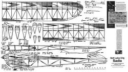 Salt Lake City Sadie model airplane plan