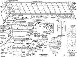 Samba Tailless 42in model airplane plan