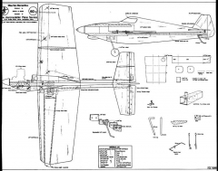 SanBernardino model airplane plan