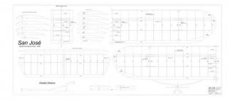 San Josè model airplane plan