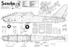 Sancho Modelhob RC model airplane plan